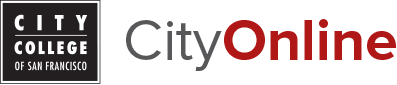 City College of San Francisco - CityOnline Logo